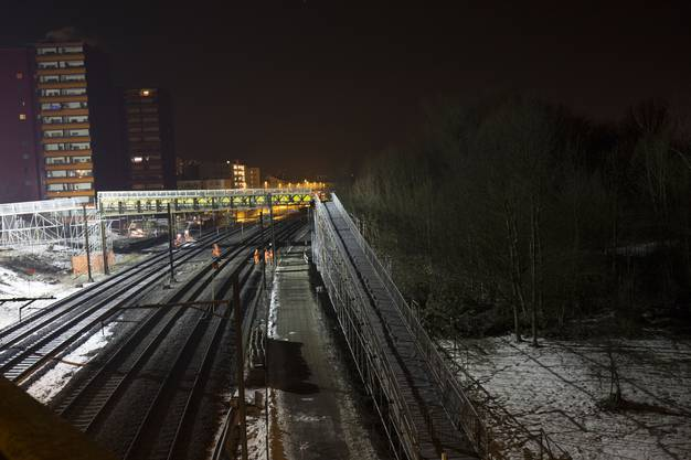 Fussgängerbrücke Schönenwerdbrücke Dietikon