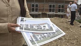 Die Nachfrage nach einem eigenen Heim steigt aufgrund der tiefen Zinsen.
