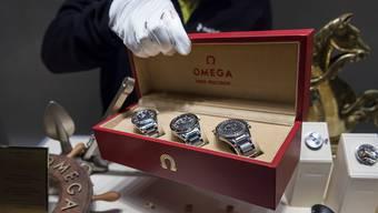 Erschwinglicher Luxus an der Baselworld: Uhren der Marke Omega.