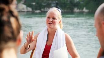 Sie kam wegen des Rheins von Bayern nach Basel: Sarah Koloska berichtet von ihrer Liebe zum Fluss.