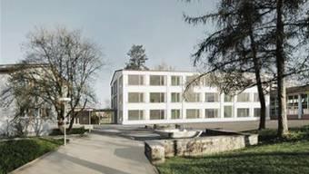 Am 18. Mai wird in Unter- und Oberentfelden über den Baukredit für dieses Schulhaus abgestimmt.
