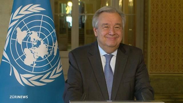 UNO-Generalsekretär besucht Bern