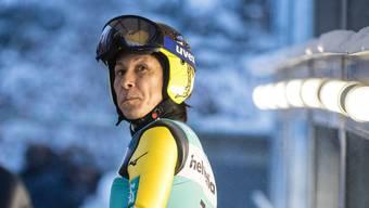 Noriaki Kasai sagt, er habe schon als Kind immer gewinnen wollen. Bild: Philipp Schmidli (Engelberg, 14. Dezember 2018)