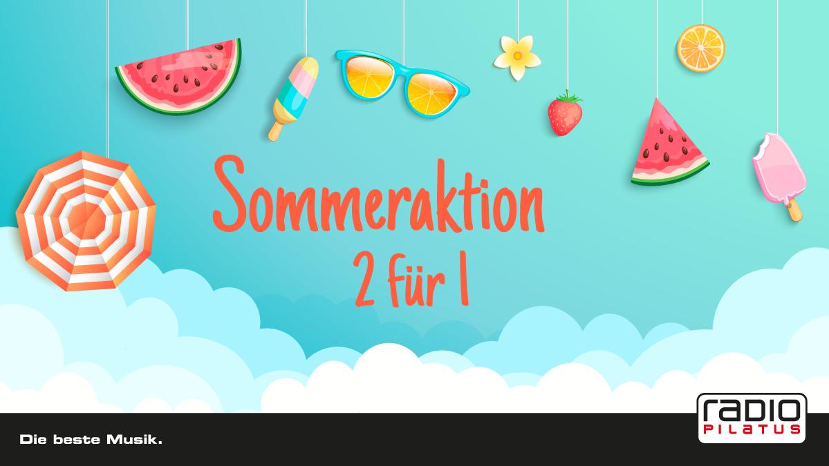 Sommeraktion 2 für 1