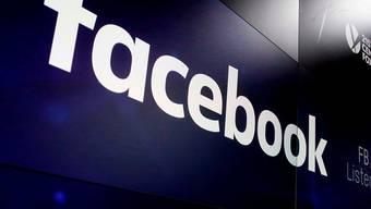 Der Facebook-Konzern hat an der Börse binnen weniger Stunden rund ein Viertel seines Wertes eingebüsst. (Archivbild)