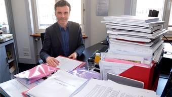 Erlebt intensive Wochen: Basels Kultur-Chef Philippe Bischof möchte die Debatte um die Basler Museen versachlichen. niz