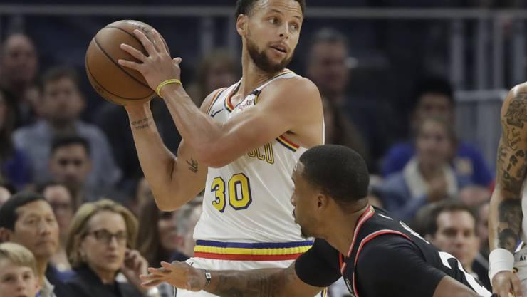 Stephen Curry zeigte bei seinem Comeback nach viermonatiger Verletzungspause eine starke Partie. Der zweimalige MPV war mit 27 Punkten der beste Werfer bei den Golden State Warriors