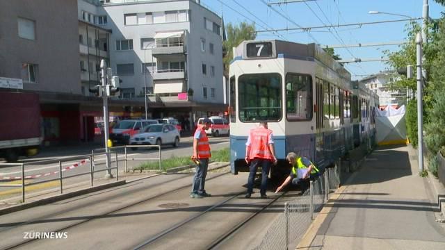 Tödlicher Tramunfall in Schwamendingen
