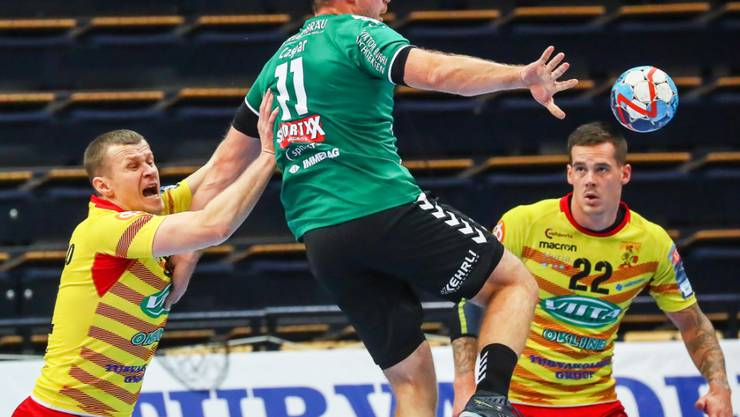 Die Thuner Handballer haben zwar wacker gespielt, aber wieder verloren