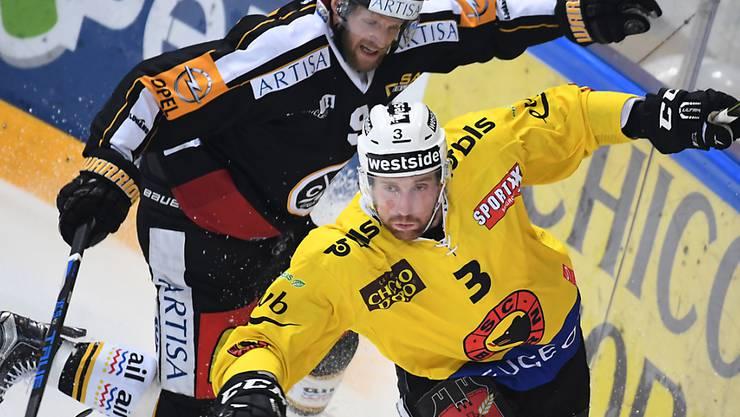 Tony Martensson eilt Berns Justin Krueger im Playoff-Halbfinal hinterher: Der Schwede enttäuschte in dieser Saison oft