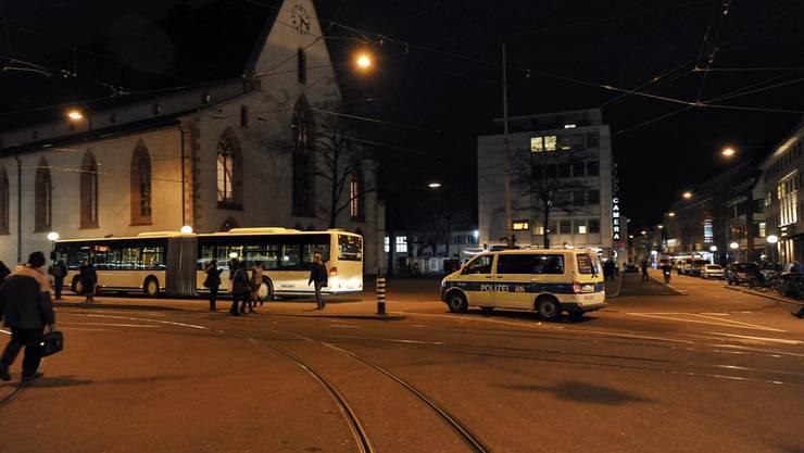 Ein 22-Jähriger wurde am Claraplatz von einem Drogenhändler spitalreif geschlagen. (Archiv)