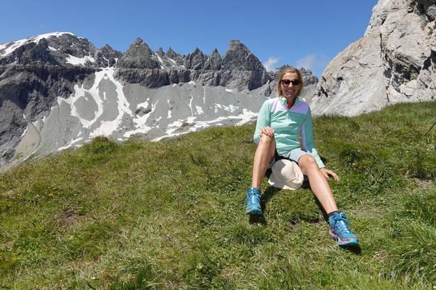 Statt Spanien-Sommerferien mit den Grosseltern gibts Bergluft für die FDP-Grossrätin Suzanne Marclay-Merz.