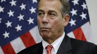 John Boehner, republikanischer Mehrheitsführer im Abgeordnetenhaus
