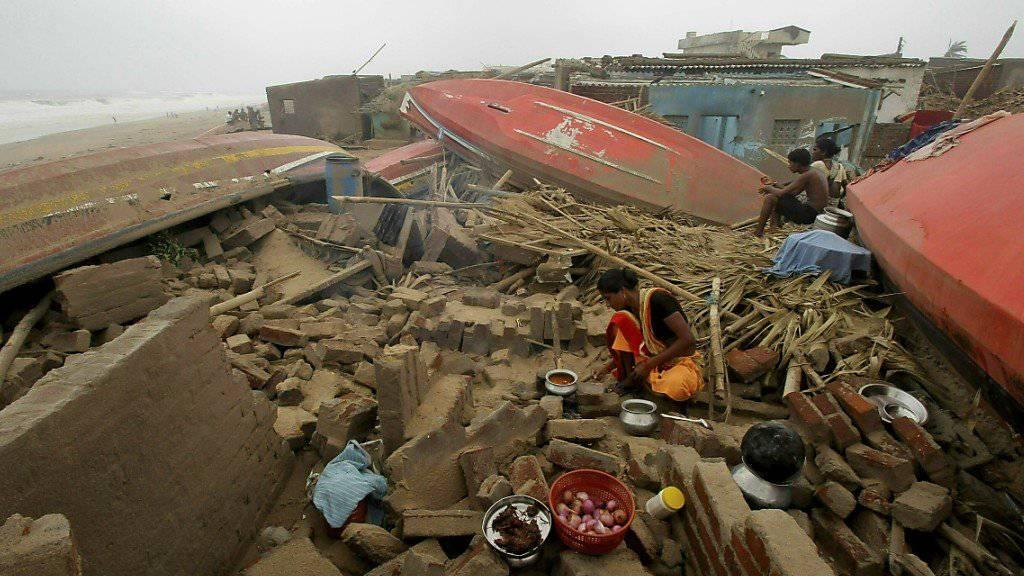 Der Zyklon «Fani», der vor zehn Tagen in Indien wütete, hat inzwischen 64 Todesopfer gefordert. (Archivbild)