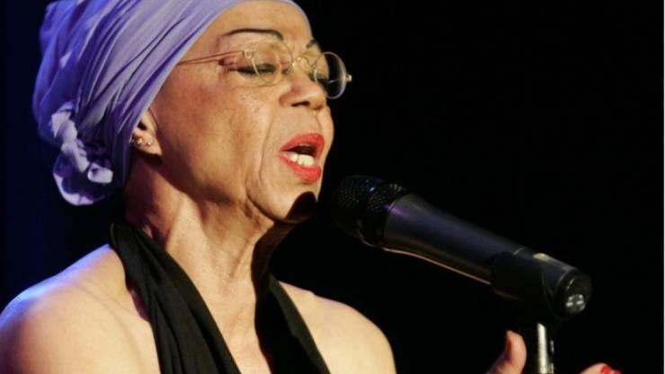 Die US-amerikanische, in der Schweiz lebende Sängerin Othella Dallas, hier bei einem Auftritt 2006, wird mit dem Swiss Jazz Award 2019 ausgezeichnet. (Archiv)