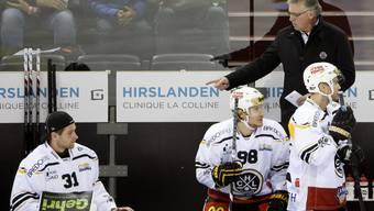 Doug Shedden weist seine Spieler zurecht: Die Wirkung lässt beim «Grande Lugano» aufhorchen.