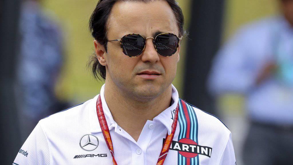 Hat am Samstag seinen Abgang aus der Formel 1 erklärt: Felipe Massa.