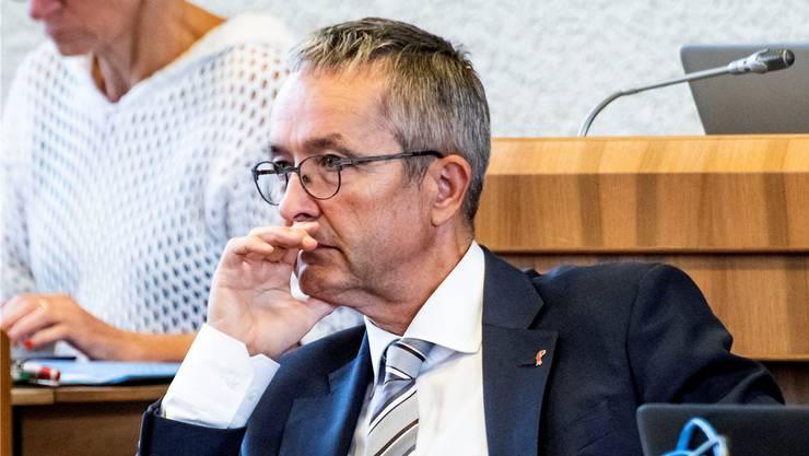 Die Justiz hat ein Verfahren gegen SVP-Regierungsrat Weber eröffnet.