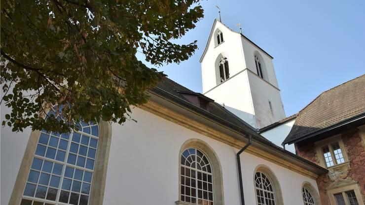 In der Stadtkirche Brugg werden am Freitagnachmittag die Glocken läuten.