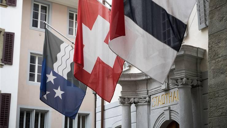 Immer wieder wurde Kritik laut, es gehe politisch nicht vorwärts. Der Stadtrat in Baden. Symbolbild.