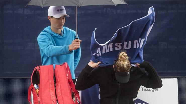 Dem Hudelwetter und dem Jungstar getrotzt: Polona Hercog gewann das Ladies Open in Lugano