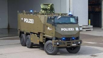 Kommt in Afghanistan zum Einsatz und neuerdings auch im Kanton Zürich: Ein Duro-Transportfahrzeug.