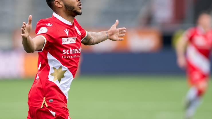Chris Kablan und der FC Thun kommen gegen Lugano mit einem blauen Auge und drei Punkten davon