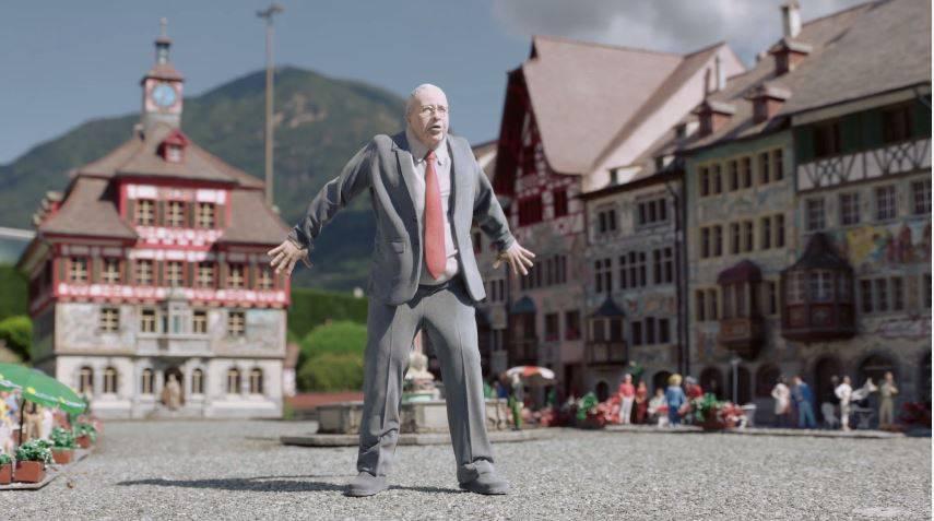 «Bewahrerli»: Was macht diese Blocher-Figur im «Swissminiature»?
