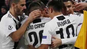 Juventus Turin hat derzeit allen Grund zum Jubeln