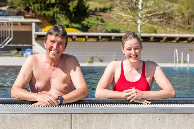 Georges Hächler (61) und Christine Schuster (39).