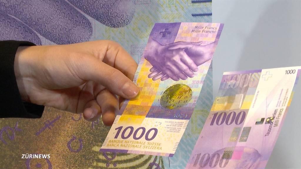Neue 1000er-Note steht für kommunikative Schweiz