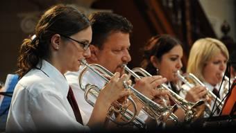 Solothurner Musiker am Eidgenössischesn Musikfest in St. Gallen