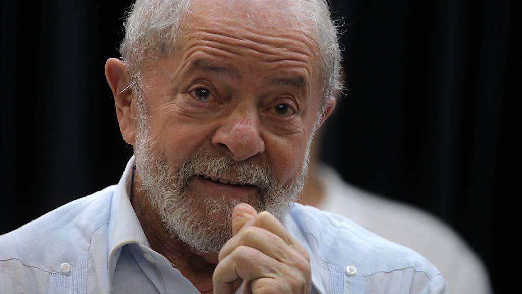 Luiz Inacio «Lula» da Silva, ehemaliger brasilianischer Präsident.