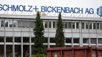Der Hauptsitz von Schmolz + Bickenbach in Emmenbrücke (Archiv)