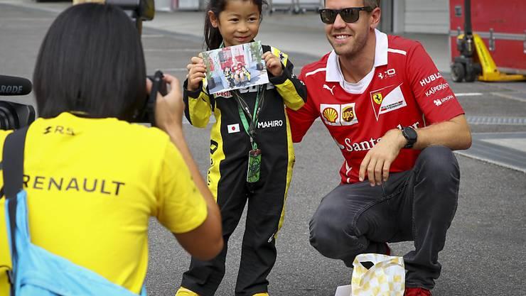 Vettel Kinder