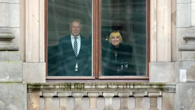 Claudia Roth und Jürgen Trittin, abtretende Spitze der Grünen
