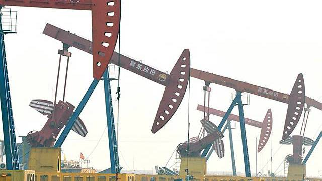 Ölfeld in China