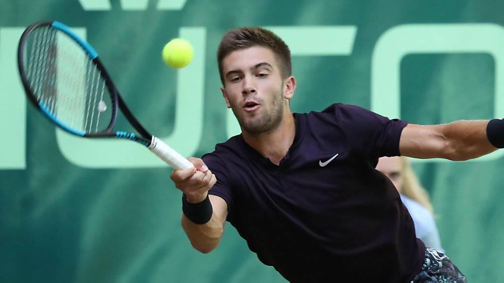Rasensaison vorzeitig beendet: Borna Coric verletzte sich vor Wimbledon