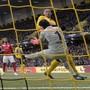 Thuns Goalie Guillaume Faivre ist gegen die Young Boys unter Dauerbeschuss