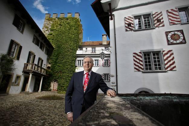 Wehrli will im privaten Teil des Schlosses mit seiner Frau Hannelore eine eigene Wohnung beziehen.