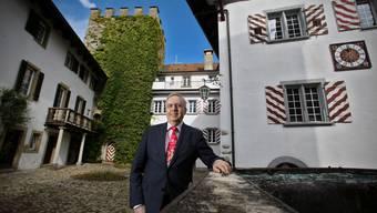Samuel Wehrli ist der neue Schlossbesitzer des Schloss Wildenstein in Veltheim. Aufgenommen am 17. September 2010.