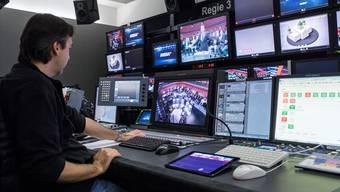 Was passiert mit den SRG-Sendern nach einem Ja zur «No Billag»?Ennio Leanza/Key