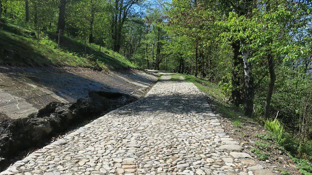 Auf zum Pass auf alten Pfaden. Ab Samstag ist das am Tessiner Monteceneri wieder möglich.