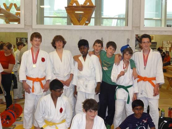 Gruppenfoto Schüler A + Jugend