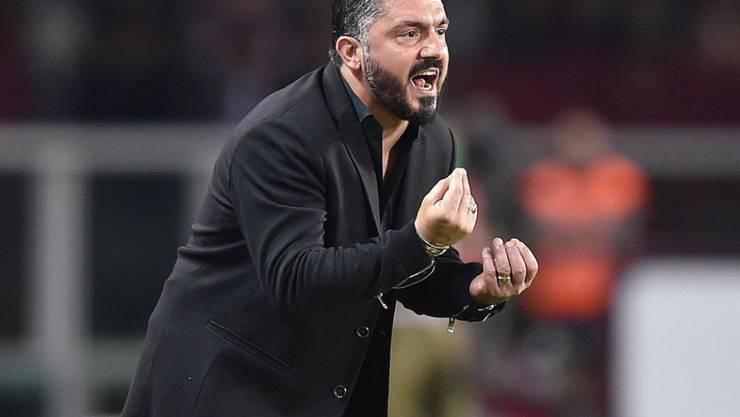 Gennaro Gattuso brachte die AC Milan wieder auf Kurs