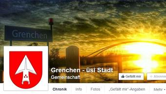 Grenchen hat mit 1238 die meisten Likes der aktiven Gemeinden im Kanton Solothurn.