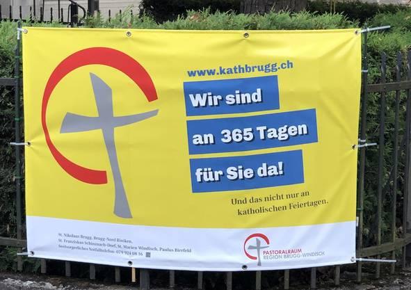 So reagiert der Pastoralraum Brugg-Windisch auf das Plakat von «inBrugg».