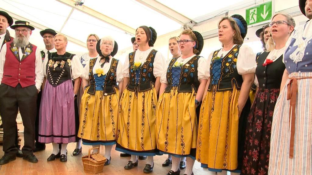 Startschuss zum Jodlerfest in Winterthur-Wülflingen
