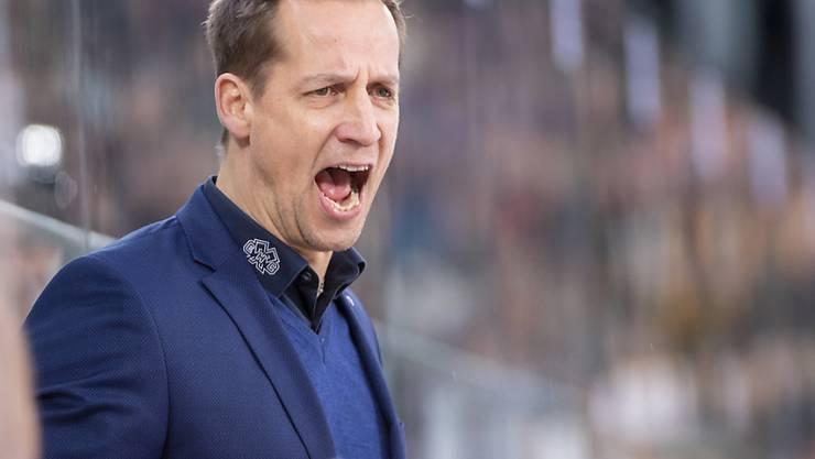 Biels Headcoach Antti Törmänen brauchte im Match gegen Fribourg Nerven