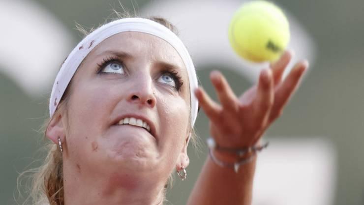 Beim Aufschlag eine schmerzhafte Entzündung zugezogen: Timea Bacsinszky kann nicht zum WTA-Turnier in Palermo antreten